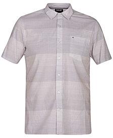 Hurley Men's Morris Ombré Stripe Shirt