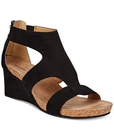 Adrienne Vittadini Tricia Wedge Sandals