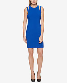 GUESS Ottoman Cutout Bodycon Dress