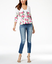 I.N.C. Petite Peplum Cardigan, Created for Macy's