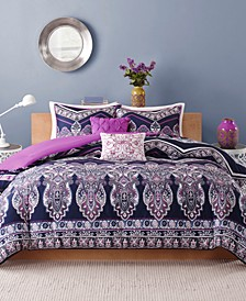 Adley 5-Pc. Full/Queen Comforter Set