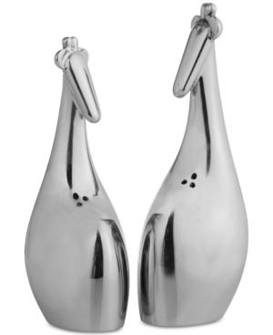 Nambe Savanna Giraffe 2-pc. Salt & Pepper Shaker Set