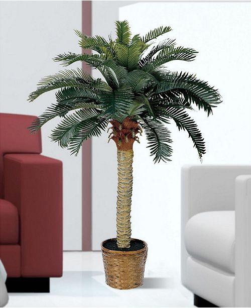 Macy Home Decor: Nearly Natural 4' Sago Palm Tree & Reviews