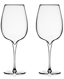 Nambé Vie Cabernet Glasses, Set of 2