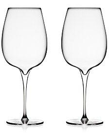 Nambé Vie Cabernet Glasses, Set of 2