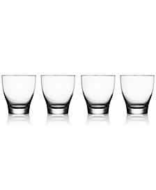 Vie Double Old-Fashioned Glasses, Set of 4