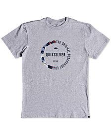 Quiksilver Men's Rainbow Circle Graphic T-Shirt
