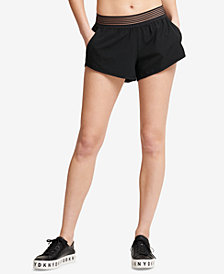 DKNY Sport Shadow-Waistband Running Shorts