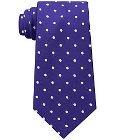 Tommy Hilfiger Men's Dot Skinny Silk Tie