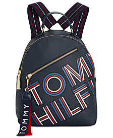 Tommy Hilfiger Adari Coated Twill Backpack, Created for Macy's