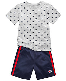 Champion 2-Pc. Printed T-Shirt & Shorts Set, Toddler Boys