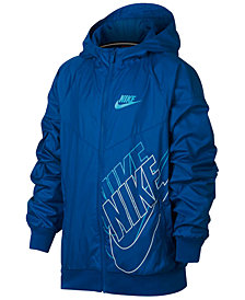 Nike Sportswear Windrunner Hooded Jacket, Big Boys