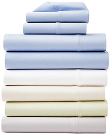 AQ Textiles Surrey Cotton 650 Thread Count 4-Pc. Extra Deep Pocket Sheet Sets