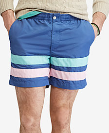 "Polo Ralph Lauren Men's 6"" Prepster Swim Trunks"