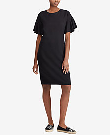 Lauren Ralph Lauren French Terry Shirtdress