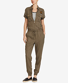 Lauren Ralph Lauren Military-Inspired Jumpsuit
