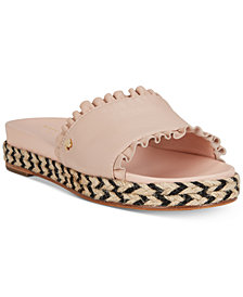 kate spade new york Zahara Flatform Sandals