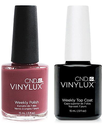 Creative Nail Design Vinylux Married To The Mauve Nail Polish & Top Coat (Two Items), 0.5-oz., from PUREBEAUTY Salon & Spa