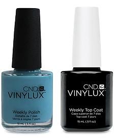 Creative Nail Design Vinylux Aqua-Intance Nail Polish & Top Coat (Two Items), 0.5-oz., from PUREBEAUTY Salon & Spa