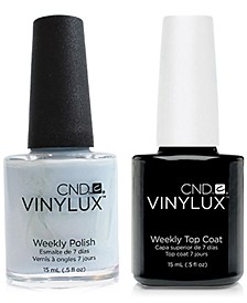 Creative Nail Design Vinylux Creekside Nail Polish & Top Coat (Two Items), 0.5-oz., from PUREBEAUTY Salon & Spa