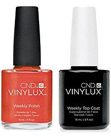 Creative Nail Design Vinylux Jelly Bracelet Nail Polish & Top Coat (Two Items), 0.5-oz., from PUREBEAUTY Salon & Spa