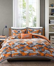 Lance 4-Pc. Full/Queen Comforter Set