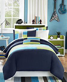 Mi Zone Pipeline 4-Pc. King/California King Duvet Cover Set