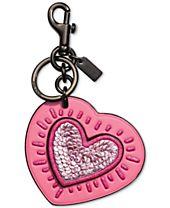 COACH Keith Haring Heart Bag Charm