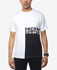 Sean John Men's Patchwork T-Shirt, Created for Macy's