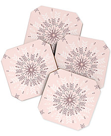 Deny Designs Rosebudstudio Pretty Coaster Set