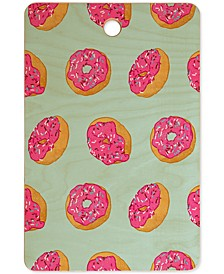 Evgenia Chuvardina Doughnut Cutting Board