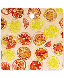 Deny Designs Amy Sia Orange Slice Cutting Board