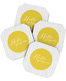 Deny Designs Allyson Johnson  Hello Gorgeous Coaster Set