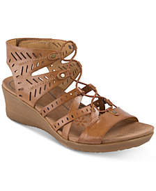 Baretraps Tiffany Gladiator Wedge Sandals