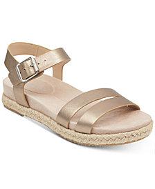 Easy Spirit Ixia Platform Espadrille Sandals