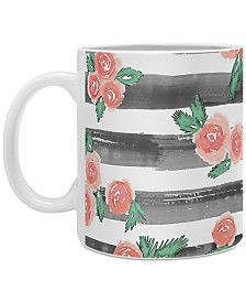 Deny Designs Dash and Ash Cheers To Rose Coffee Mug