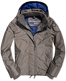 Superdry Men's Pop Zip Hooded Windcheater Jacket