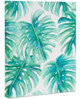 "Jacqueline Maldonado Paradise Palms Art Canvas 8x10"""