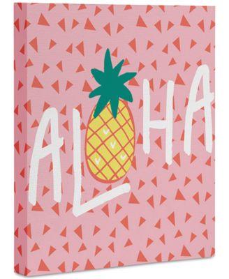 """Zoe Wodarz Aloha Darling Art Canvas 8x10"""""""