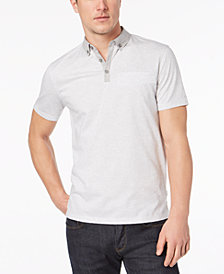 Calvin Klein Men's Feeder Stripe Polo