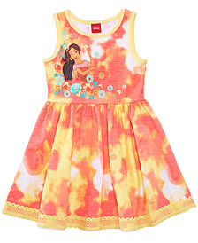 Disney's® Princess Elena of Avalor Tie-Dyed Dress, Little Girls