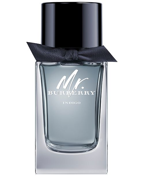 Burberry Men's Mr. Burberry Indigo Eau de Toilette Spray, 3.3-oz.