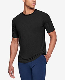 Under Armour Men's Athletic Recovery Short Sleeved Crew Neck Lounge Shirt