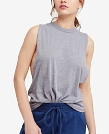 Free People Movement No Sweat Crisscross Tank Top