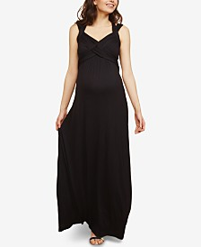 Motherhood Maternity Strappy Maxi Dress