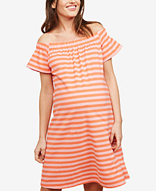 Motherhood Maternity Off-The-Shoulder Dress