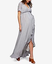 Rachel Pally Maternity Striped Maxi Dress