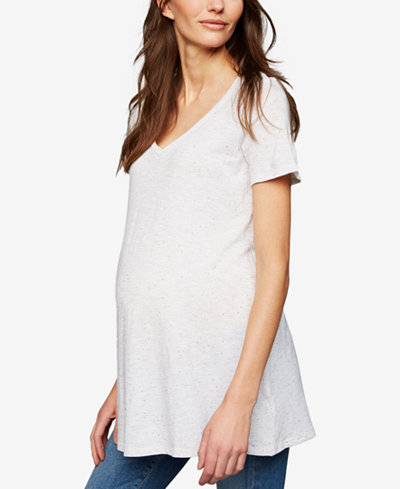 A Pea In The Pod Maternity V-Neck T-Shirt