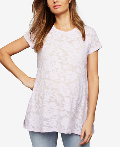 A Pea In The Pod Maternity Burnout T-Shirt
