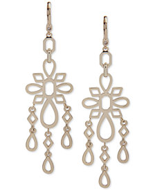 Ivanka Trump Gold-Tone Openwork Chandelier Earrings